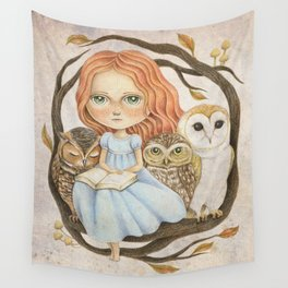 Autumn Tales Wall Tapestry