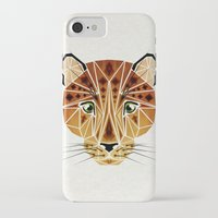 leopard iPhone & iPod Cases featuring leopard by Manoou