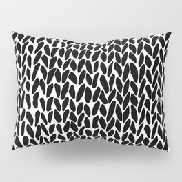 Hand Knit Zoom Pillow Sham