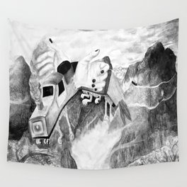 Handscape Takes Flight Wall Tapestry
