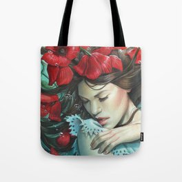 The Disappearance of The Girl Tote Bag