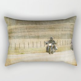 Get your motor running... Rectangular Pillow