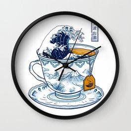 The Great Kanagawa Tee Wall Clock