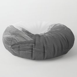 Yosemite Valley Modified Floor Pillow
