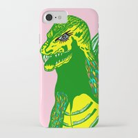 dino iPhone & iPod Cases featuring Dino by intermittentdreamscapes