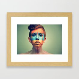 PASSIONATE BRIGHT YOUNG THING Framed Art Print