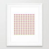 polka dot Framed Art Prints featuring Polka Dot by Ryan Grice