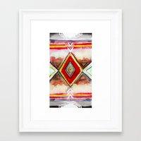 kilim Framed Art Prints featuring Kilim by Fitz Farm