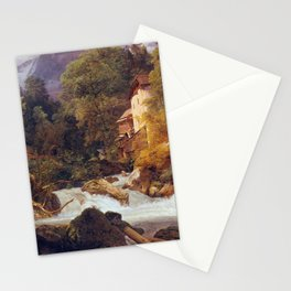Ferdinand Georg Waldmüller Mill Outlet of Königsse Stationery Cards