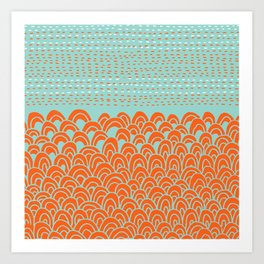 Infinite Wave Art Print