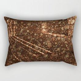 Vintage Lockhouse Revival Rectangular Pillow