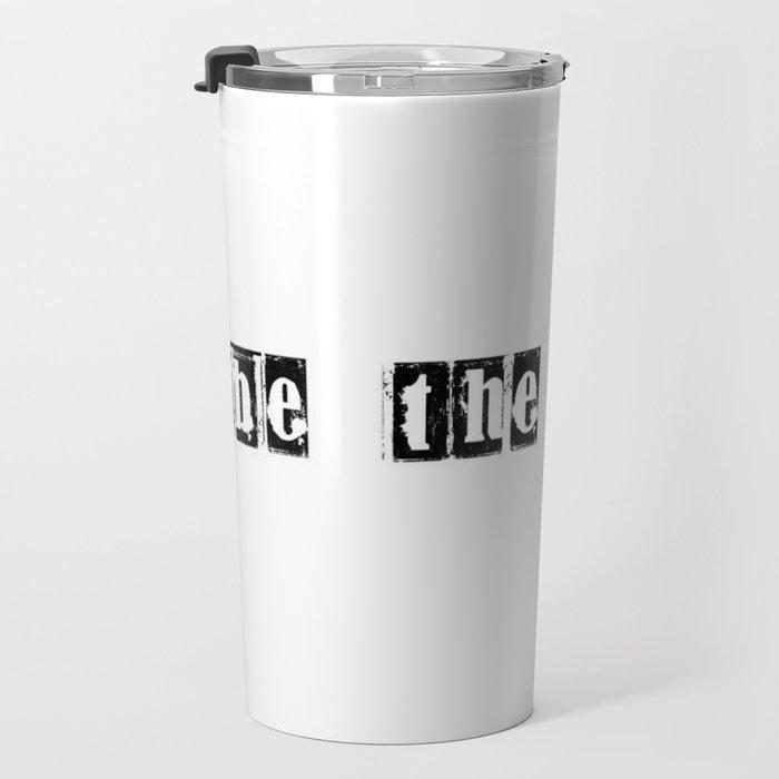 be the change Travel Mug
