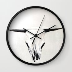 Bone Wall Clock