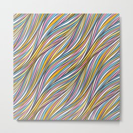 Universal neutral background Metal Print