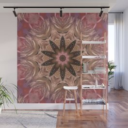 aboriginal flower2 Wall Mural