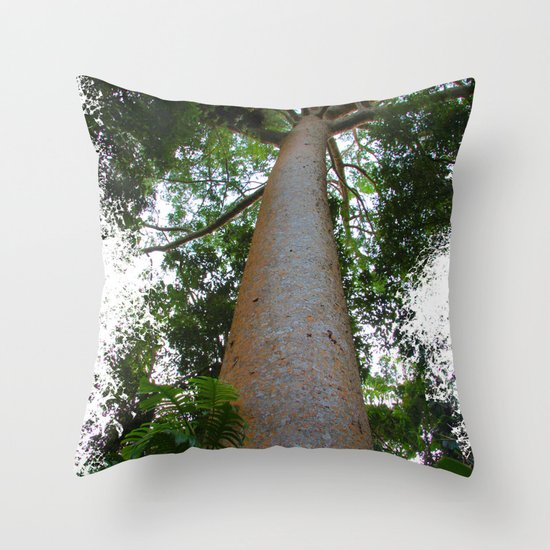 not just another tree Throw Pillow