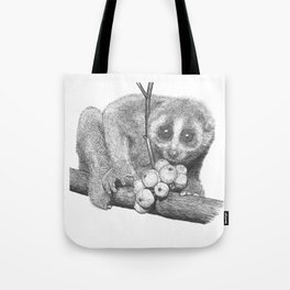 Slow Loris (Kera Duku) Tote Bag