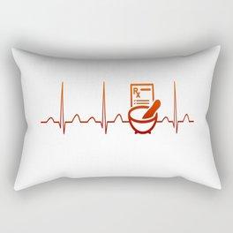 PHARMACIST HEARTBEAT Rectangular Pillow