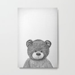 Can I be your teddy bear? Metal Print