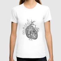 radiohead T-shirts featuring RADIOHEAD HEART by Estelle Couraye