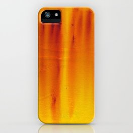 Abstract X (Monoprint)  iPhone Case