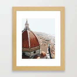 Masterpiece of Florence! Framed Art Print