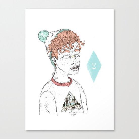 ASTORIA Canvas Print