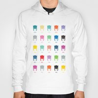 pantone Hoodies featuring Pantone Knight by James Northcote