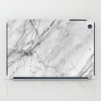 alcohol iPad Cases featuring Marble by Patterns and Textures