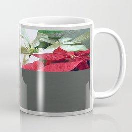 Mixed color Poinsettias 3 Blank Q6F0 Coffee Mug