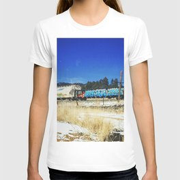Blue Graffiti T-shirt