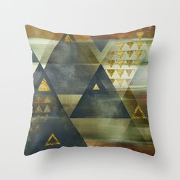 Copper City Throw Pillow