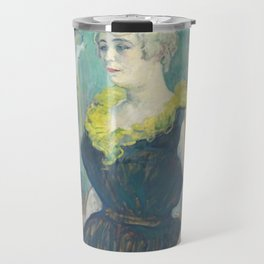 "Henri de Toulouse-Lautrec ""La Clownesse Cha-U-Kao"" Travel Mug"