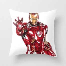 Iron Man Throw Pillow