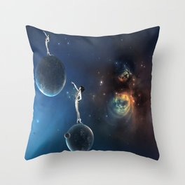 Light Year Darlings Throw Pillow