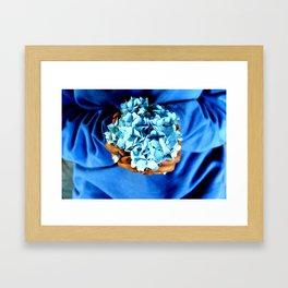 Things of Blue  Framed Art Print