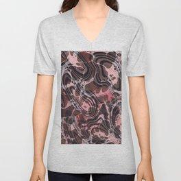 Surrealist Marbling Unisex V-Neck