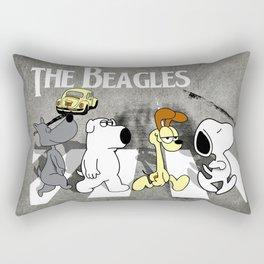 The Beagles Rectangular Pillow