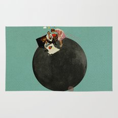 Life on Earth | Collage Rug