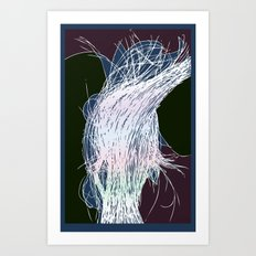 Lumastrands Art Print
