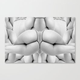 Booty Wall Paper Canvas Print
