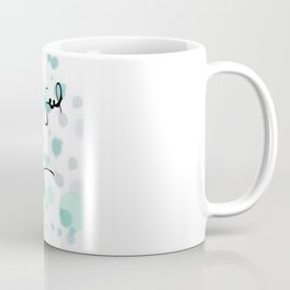 Some people feel the rain, others just get wet -- Bob Dylan. Coffee Mug