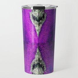 3-D Barking Crepe Myrtle Done As Chalk Art Travel Mug