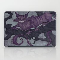 cheshire cat iPad Cases featuring Cheshire Cat by Iren Horrors
