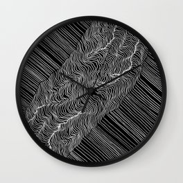 Inverted Rift Wall Clock