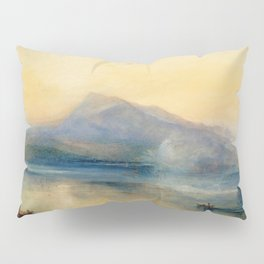 "J.M.W. Turner ""The Dark Rigi, the Lake of Lucerne, Showing the Rigi at Sunrise"" Pillow Sham"