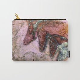 Chauvet Cave Horse Heads I Carry-All Pouch