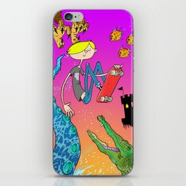 Have Fun Storming the Castle! iPhone Skin