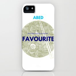 ABED COMMUNITY QUOTES (2) iPhone Case