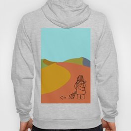 Dance in the Dunes with a Broom Hoody
